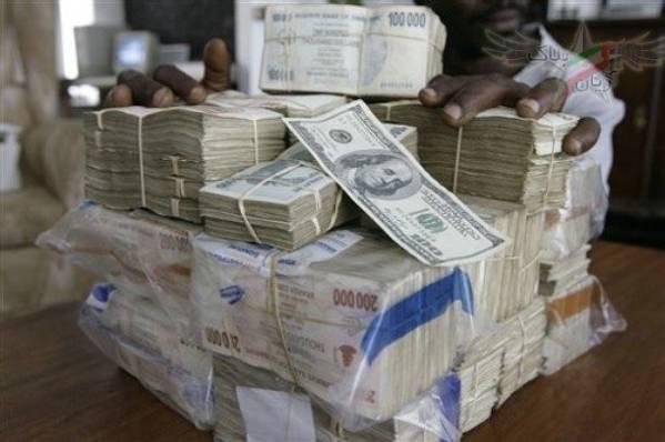 قیمت دلار زیمباوه